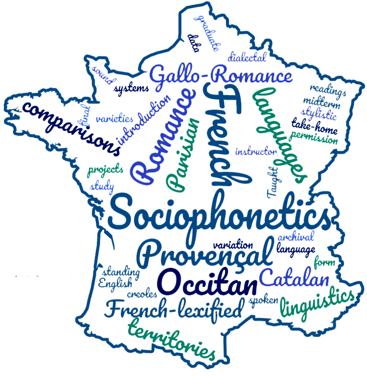 Sociophonetics of French and Gallo-Romance course